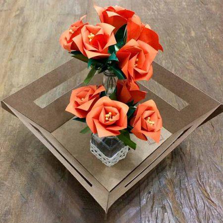 "ALT+=""arranjo rosas origami"""
